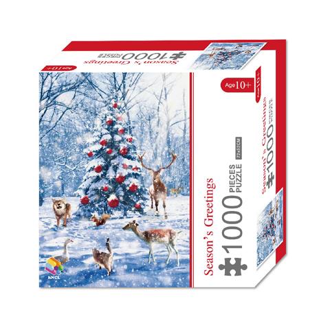 1000 Pieces Of Paper Puzzle-Season