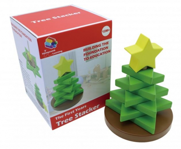 Tree Stacker, Educational Toys, Wooden Toys, Trip Games 1