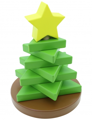 Tree Stacker, Educational Toys, Wooden Toys, Trip Games 2