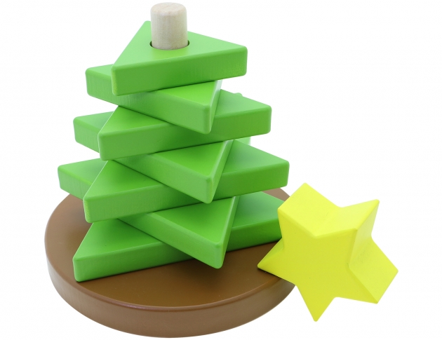 Tree Stacker, Educational Toys, Wooden Toys, Trip Games 3