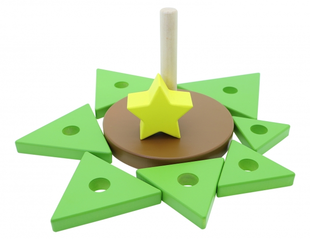 Tree Stacker, Educational Toys, Wooden Toys, Trip Games 5
