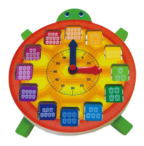 Tick Tock Turtle Clock, Educational Toys, Learning Clock 3