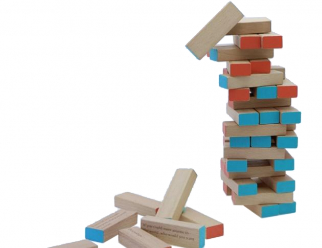 Tropple: Truth or Dare, Wooden Games, Wooden Stackers 2
