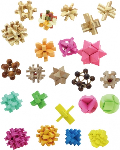 3D Puzzles, Tabletop Games, Brain Games, Wooden Toys 5