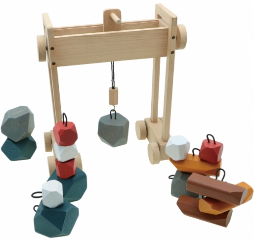Crane-Brain, Wooden Toys, Brain Games, Tabletop Games 1