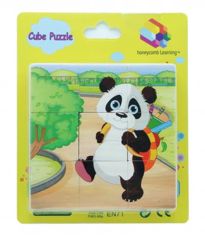 Cube Puzzle - Animals, Educational Toys, Puzzles, Wooden Toys 1