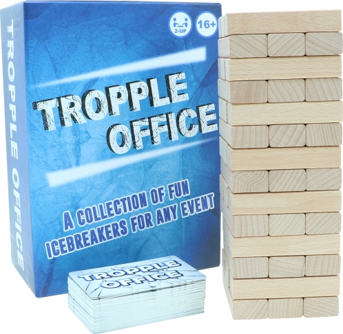Tropple Office, Office Games, Wooden Stackers, Card Games 2