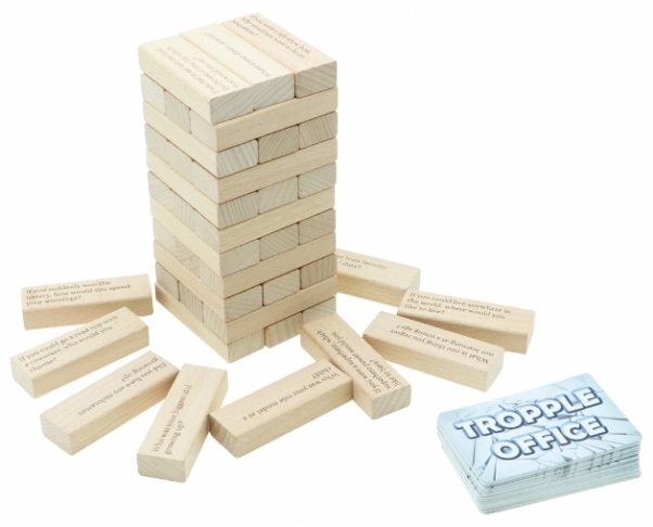 Tropple Office, Office Games, Wooden Stackers, Card Games 3