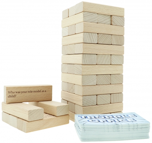 Tropple Office, Office Games, Wooden Stackers, Card Games 4