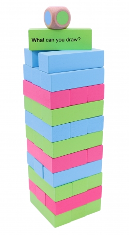 Tropple: Level 1, Educational Toys, Wooden Stackers, Wooden Games 4