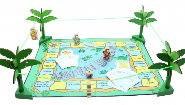 Action Monkey, Wooden Games, Family Games, Board Games 4