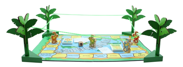 Action Monkey, Wooden Games, Family Games, Board Games 5