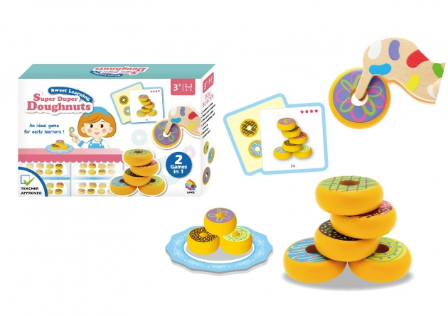 Super Duper Doughnuts, Educational Toys, Kidult games, Special needs games, Cooperative games 1