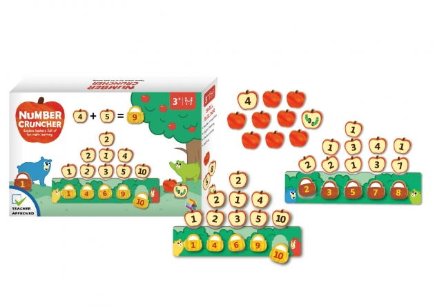 Number Cruncher, STEM Toys, STEAM Games, Smart Games 1
