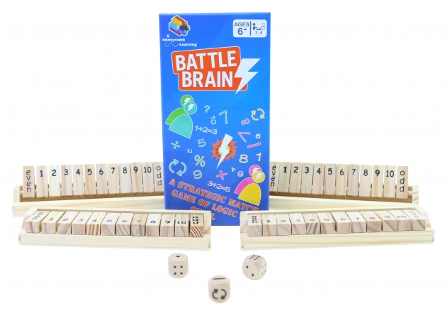 Battle Barin, Math Games, Brain Games, Wooden Games 1