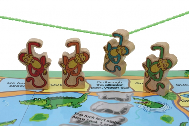 Action Monkey, Wooden Games, Family Games, Board Games 3