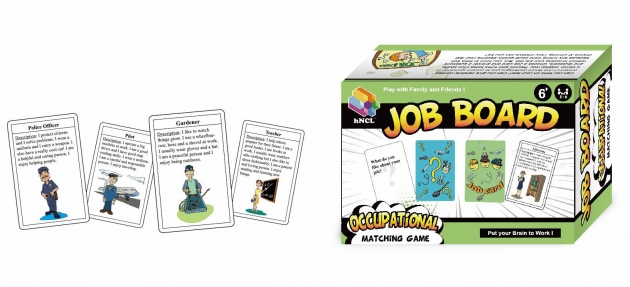 Job Board, Card Games, Educational Games, Smart Games 1