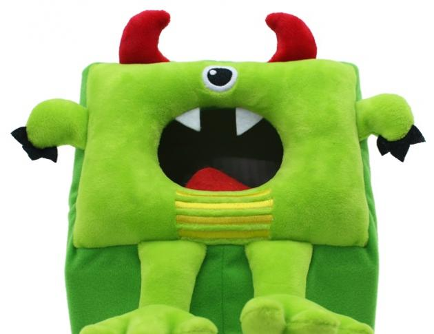 Monster Gobble - Green, Educational Game, Learning Toys 1