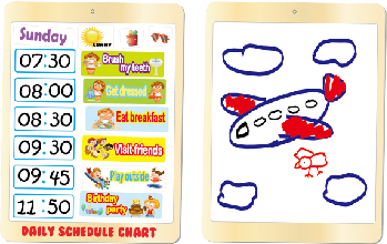 My Pad Pal - Time Learning, Eductational Toys, Learning Toys, Magnetic Toys 1