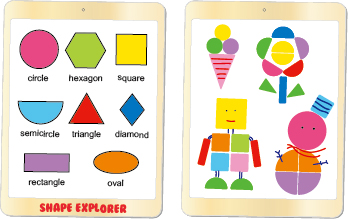 My Pad Pal - Shape Explorer, Tabletop Games, Wooden Toys 1