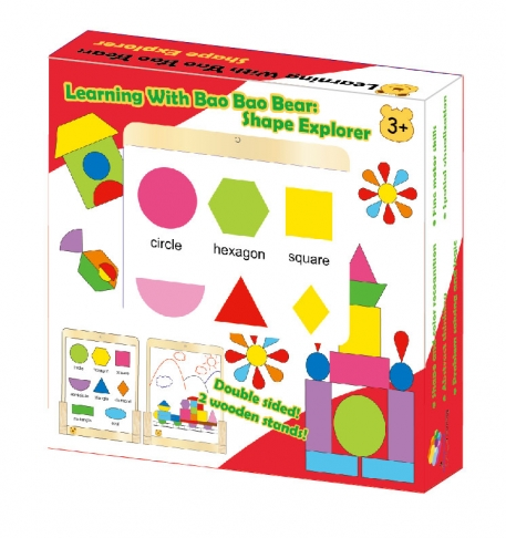 Learning With Bao Bao Bear-Shape Explorer, Eductational Toys, Learning Toys, Magnetic Toys 1