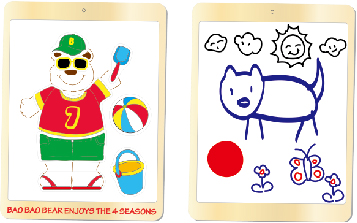My Pad Pal: Bao Bao Bear Enjoys the 4 Seasons, Educational Toys 1