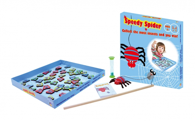 Speedy Spider, Wooden Games, Family Games, Board Games 1