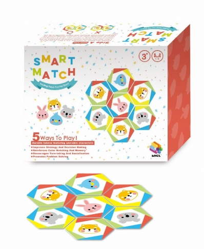 Smart Match, Educational Learning Toys, Brain Games, Wooden Toys 1
