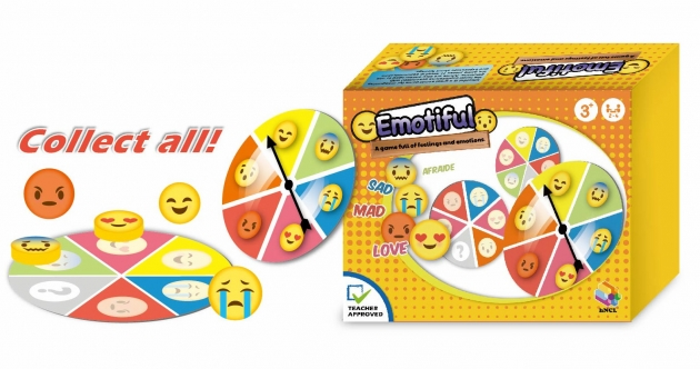 Emotiful, Brain Games, Board Games, Card Games, Wooden Toys, Special Needs Game 1