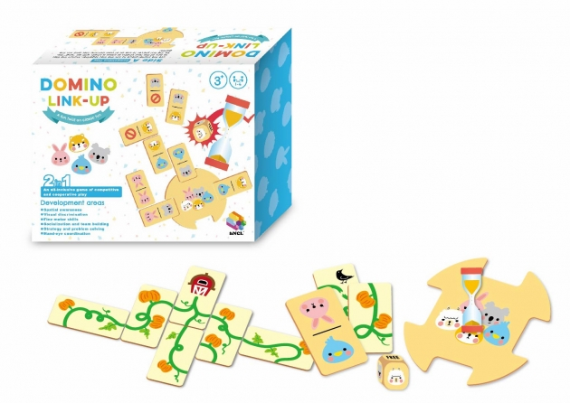 Domino Link Up, Educational Learning Toys, Brain Games, Wooden Toys 1