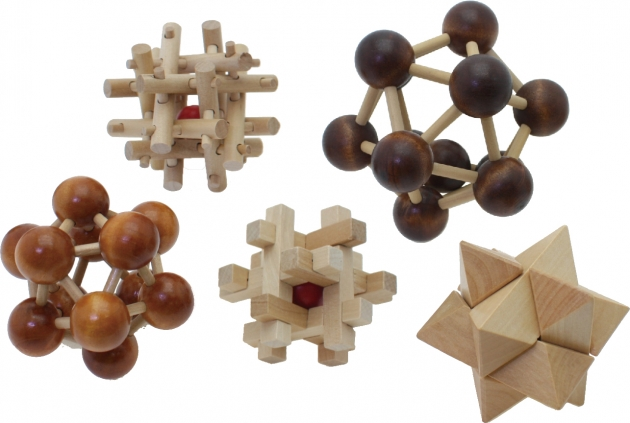 3D Puzzles, Tabletop Games, Brain Games, Wooden Toys 1