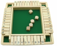 4 Player Shut the Boxs, Wooden Games, Tabletop Games, Family Games 1